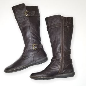 B.O.C. by Born Leather Knee High Riding Boots